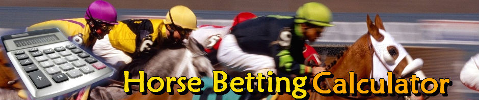 exacta horse betting calculator